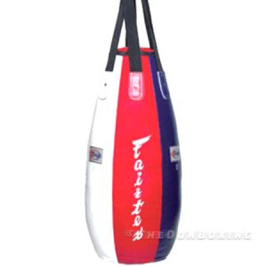 Fairtex Teardrop bag White ,blue and Red
