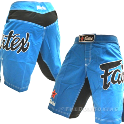 Sky blue MMA shorts from fairtex