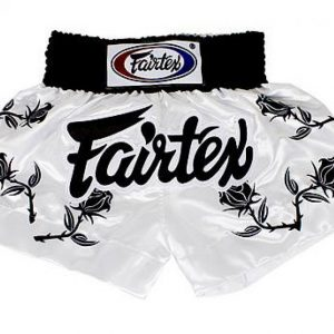 Black roses Muay thai shorts