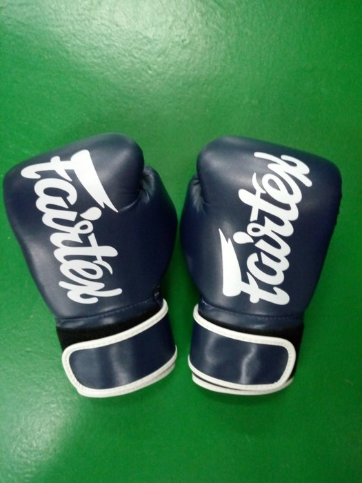 Fairfax blue Muay Thai Gloves