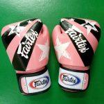 fairtex gloves Nations Pink