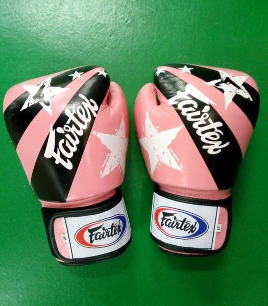 fairtex gloves Nations Pink