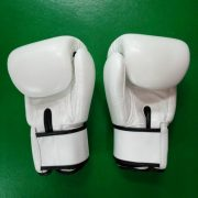Fairtex muay Thai gloves Tight fit White color