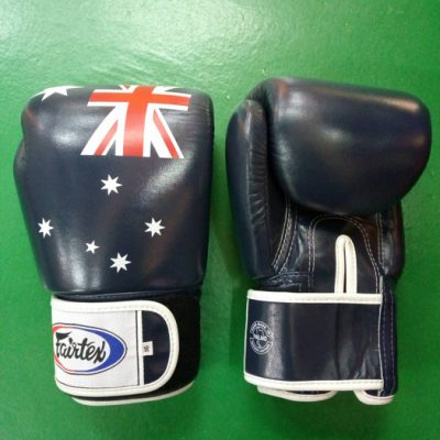 Fairtex Australian Flag Muay thai Gloves BGV1
