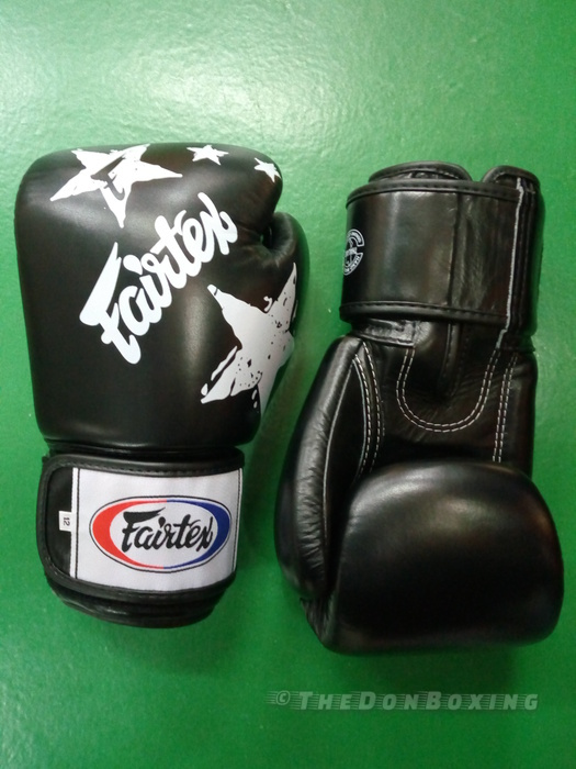 Fairtex Muay Thai Gloves Nations style– black BGV1