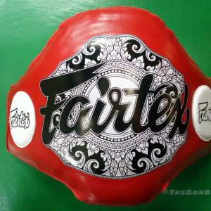 Fairtex Light-Weight Belly pad with better shock absorbency(red)