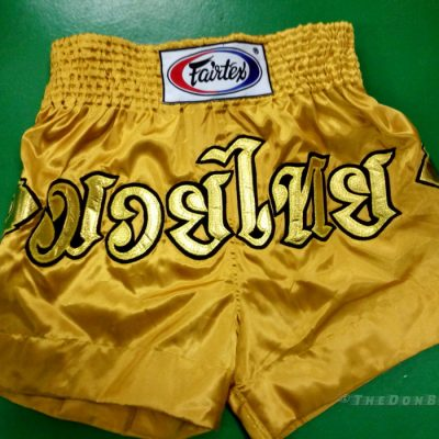 Poo inspired Fairtex muay thai shorts