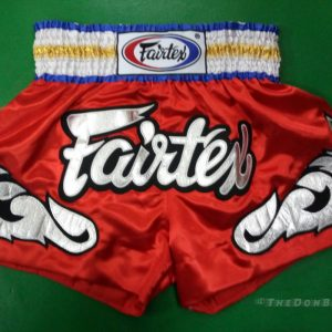 Fairtex Muay thai shorts GOLD ,SILVER, RED , BLUE)