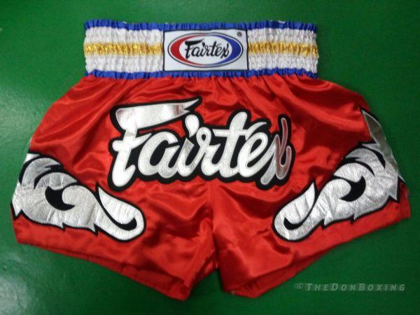 Fairtex Muay thai shorts GOLD ,SILVER, RED , BLUE)