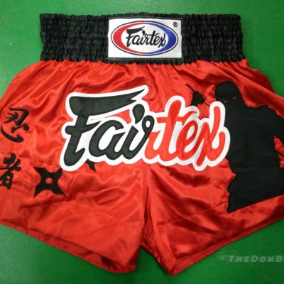 shorts fairtex muay thai -Black Ninja