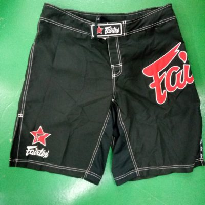 Fairtex MMA stylish shorts Red & Black