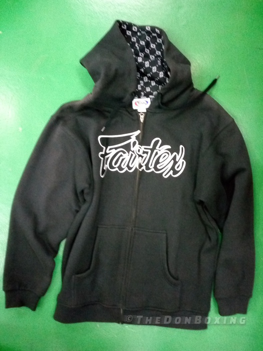 Stylish sweatshirt from Fairtex black FHS5