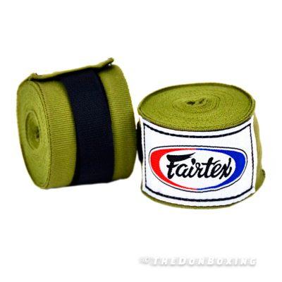 Olive Green Premium Cotton Boxing Hand Wraps HW2