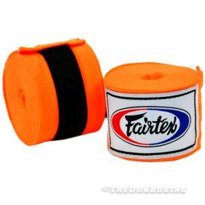 Orange Premium Cotton Boxing Hand Wraps HW2